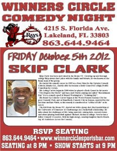 Friday Night Comedy Night w/ Touring Comedian Skip Clark