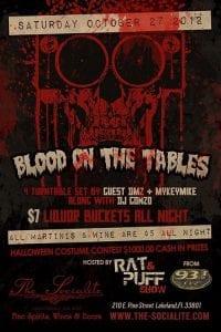 Socialite Saturdays Special Event - 4 turntable set w/ Rat n puff from 93.3FLZ, DJ DMZ, DJ Mykeymike, & DJ Gonzo