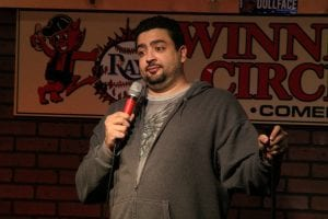 Comedian Pedro Lima live at Winners Circle