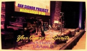 Dan Signor Wednesdays Ybor Cigar