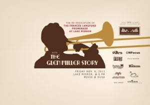 TONIGHT: Pics on the Promenade w/ The Glen Miller Story | Nov. 8th 6:30pm-9:00pm