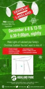 Lights of Lakeland - DECEMBER 6 - 8 | Free Event
