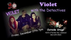 The Detectives Live at Winners Circle w/ special guests Violet (Outdoor Show)
