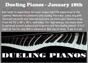 Dueling Piano's Live at Winners Circle Sports Bar and Grill