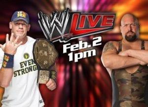 WWE Live - Sunday Feb 2nd at the Lakeland Center