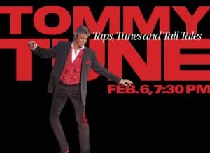 Tommy Tune Taps Tunes and Tall Tales at The Lakeland Center