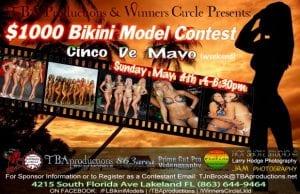 Cinco de Mayo Weekend - $1000 Bikini Model Contest Sunday May 4th