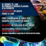 Socialite Thursdays - College Night $1 Drinks