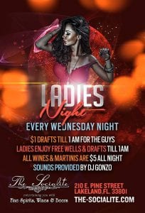 Wednesday LADIES NIGHT at The Socialite (Every Weds. Night) | 863area.com