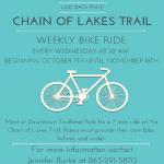 chain of lakes trail bike ride