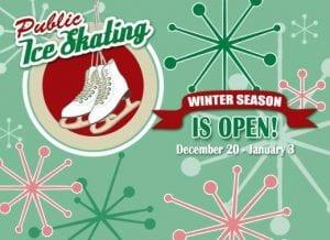 Public Ice Skating Dec 2015