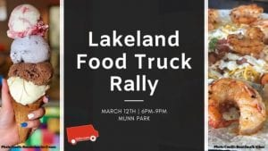 Food Truck Rally, Lakeland, Munn Park, Pet friendly, Kid Friendly
