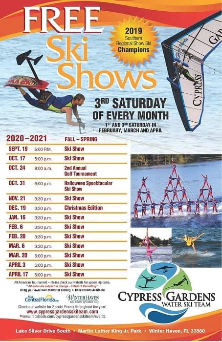 Winter Haven, Ski Show, Entertainment, Things to Do, Kid Friendly, Saturday,